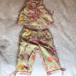 Girls 2 piece summer outfit
